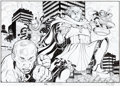 "Original Comic Art:Illustrations, Arthur Adams GQ Magazine ""Real Life Super-Villains""Illustration Original Art Group of 5 (GQ, 2016).... (Total: 5Original Art)"