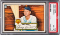 Baseball Cards:Singles (1950-1959), 1952 Topps Jerry Priddy (Red Back) #28 PSA NM-MT 8....