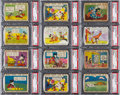 Non-Sport Cards:Lots, 1935 R89 Mickey Mouse PSA Graded Collection (41). ...