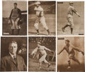 Baseball Cards:Lots, 1909-13 M101-2 Sporting News Supplements Collection (25). ...