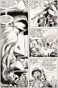 Original Comic Art:Panel Pages, Joe Kubert Our Army at War #224 Page 5 Original Art (DC,1970)....