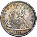 Seated Dimes, 1839-O 10C No Drapery, Large O, F-106, R.3, MS64 PCGS....