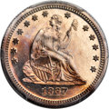 Proof Seated Quarters, 1867 25C PR65 Cameo PCGS....