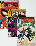 Modern Age (1980-Present):Superhero, Spectacular Spider-Man #50-55 Box Lot (Marvel, 1981) Condition:Average VF/NM....