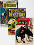 Bronze Age (1970-1979):Horror, House of Mystery/House of Secrets Box Lot (DC, 1970s) Condition:Average VG....