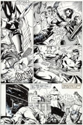Original Comic Art:Panel Pages, Jim Lee The Punisher War Journal #2 Page 20 Original Art(Marvel, 1988)....