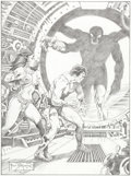 Original Comic Art:Splash Pages, Frank Brunner John Carter Illustration Original Art(2007)....