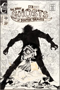 Original Comic Art:Covers, Tom Sutton Many Ghosts of Doctor Graves #39 Cover Original Art (Charlton, 1973)....