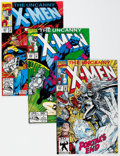 Modern Age (1980-Present):Superhero, X-Men #285-293 and 295 Box Lot (Marvel, 1992) Condition: AverageVF/NM....