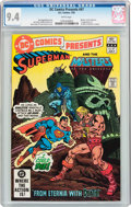 Modern Age (1980-Present):Superhero, DC Comics Presents #47 Superman and the Masters of the Universe(DC, 1982) CGC NM 9.4 White pages....