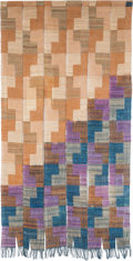Rugs & Textiles:Textiles, Jim Bassler (American, b. 1933). Untitled (Hanging Textile).Hand-dyed and woven wool. 64 x 33 inches (162.6 x 83.8 cm)...