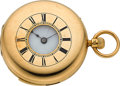 Timepieces:Pocket (pre 1900) , E.J. Dent London Watchmaker to the Queen Gold Demi-Hunter Repeater For Restoration. ...