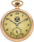 Timepieces:Pocket (post 1900), Dudley Watch Co. Rare Early Model 1, Serial No. 508. ...