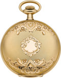 Timepieces:Pocket (post 1900), South Bend Unused Gold 21 Jewel Grade 294, circa 1907. ...
