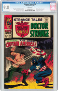 Silver Age (1956-1969):Superhero, Strange Tales #159 (Marvel, 1967) CGC NM/MT 9.8 White pages....