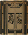 Books:Literature 1900-up, W. B. Yeats. Four Plays for Dancers. London: Macmillan andCo., Limited, 1921....