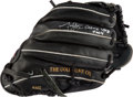 Baseball Collectibles:Others, 2004 Jon Lester Game Used, Signed Fielder's Glove. ...