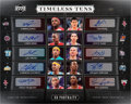 Basketball Collectibles:Others, 2005 Upper Deck Portraits Timeless Tens Autograph #2/3 With James,Ming, Anthony, etc...