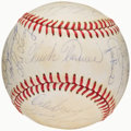 Baseball Collectibles:Balls, 1979 Pittsburgh Pirates Team Signed Baseball (23 Signatures) -World Series Championship Season!...