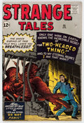 Silver Age (1956-1969):Science Fiction, Strange Tales #95 (Marvel, 1962) Condition: VF....