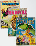 Silver Age (1956-1969):Miscellaneous, Showcase Group of 9 (DC, 1960-68) Condition: Average GD+....(Total: 9 Comic Books)