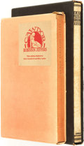 Books:Fiction, Robinson Jeffers. Pair of SIGNED/LIMITED Titles. Includes:Cawdor and Other Poems. 1928. [and:] Dear Judas and O...(Total: 2 Items)