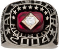 Baseball Collectibles:Others, 2004 Major League All-Star Game (American League) Ring....