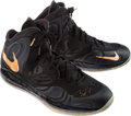 Basketball Collectibles:Others, 2014 Chris Bosh Game Worn, Signed Miami Heat NBA Finals Game 1Shoes....