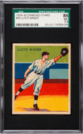 Baseball Cards:Singles (1930-1939), 1934-36 Diamond Stars Lloyd Waner, 1935 #16 SGC 86 NM+ 7.5 - PopThree, None Higher....