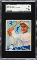 Baseball Cards:Singles (1930-1939), 1934 Goudey Rip Collins #51 SGC 92 NM/MT+ 8.5 - Pop One, NoneHigher. ...