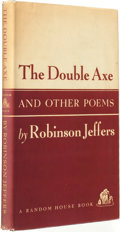 Books:Fiction, Robinson Jeffers. SIGNED. The Double Axe & Other Poems.New York: Random House, [1948]....