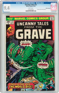 Bronze Age (1970-1979):Horror, Uncanny Tales #12 White Mountain pedigree (Marvel, 1975) CGC NM 9.4White pages....