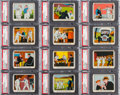 Non-Sport Cards:Sets, 1937 R41 Dick Tracy High Grade High Number (#'s 121-144) CompleteSet (24). ...