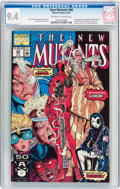 Modern Age (1980-Present):Superhero, The New Mutants #98 (Marvel, 1991) CGC NM 9.4 Off-white to whitepages....
