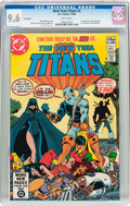 Modern Age (1980-Present):Superhero, New Teen Titans #2 UK Edition (DC, 1980) CGC NM+ 9.6 Whitepages....