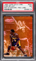 Autographs:Sports Cards, 1999 Topps Gold Label Kobe Bryant New Standard - Red Label 01/25 #NS4 PSA NM 7. ...