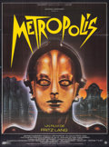 "Movie Posters:Science Fiction, Metropolis (Gaumont, R-1984). French Grande (45.5"" X 63""). ScienceFiction.. ..."