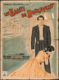 """Wuthering Heights (Pantheon, R-1948). French Grande (45.75"""" X 61.5""""). Romance"""