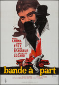 """Movie Posters:Foreign, Band of Outsiders (Columbia, 1964). French Grande (45.5"""" X 63""""). Foreign.. ..."""