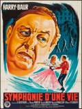 """Movie Posters:Foreign, Symphonie eines Lebens (CODIF, 1943). French Grande (47"""" X 63""""). Foreign.. ..."""