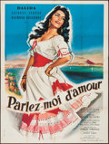 "Movie Posters:Foreign, Che Femmina!! E... Che Dollari! (Rialto, 1961). French Grande (46.25"" X 62"") Foreign. French Title: Parlez-moi d'amour...."