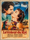"Movie Posters:Adventure, The King's Thief (MGM, 1955). French Grande (47"" X 63"").Adventure.. ..."