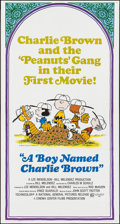 """Movie Posters:Animation, A Boy Named Charlie Brown (National General, 1969). Three Sheet (41"""" X 81""""). Animation.. ..."""