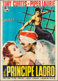 "Movie Posters:Adventure, The Prince Who Was a Thief (Universal International, 1951). Italian4 - Fogli (54.5"" X 77.5""). Adventure.. ..."