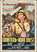 "Movie Posters:Adventure, Flame Over India (20th Century Fox, 1960). Italian 2 - Fogli (39.5""X 55""). Adventure.. ..."