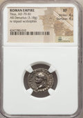 Ancients:Roman Imperial, Ancients: Titus (AD 79-81). AR denarius (3.18 gm)....
