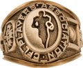 Football Collectibles:Others, 1990's Canadian Football League Players Association Ring....
