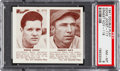Baseball Cards:Singles (1940-1949), 1941 R330 Double Play Joost/Koy #117/118 PSA NM-MT 8. ...