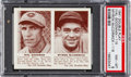 Baseball Cards:Singles (1940-1949), 1941 Double Play Goodman/McCormick #115/116 PSA NM-MT 8. ...