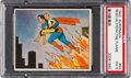 "Non-Sport Cards:Singles (Pre-1950), 1940 Superman ""Rescue From The Flames"" #54 PSA EX 5. ..."